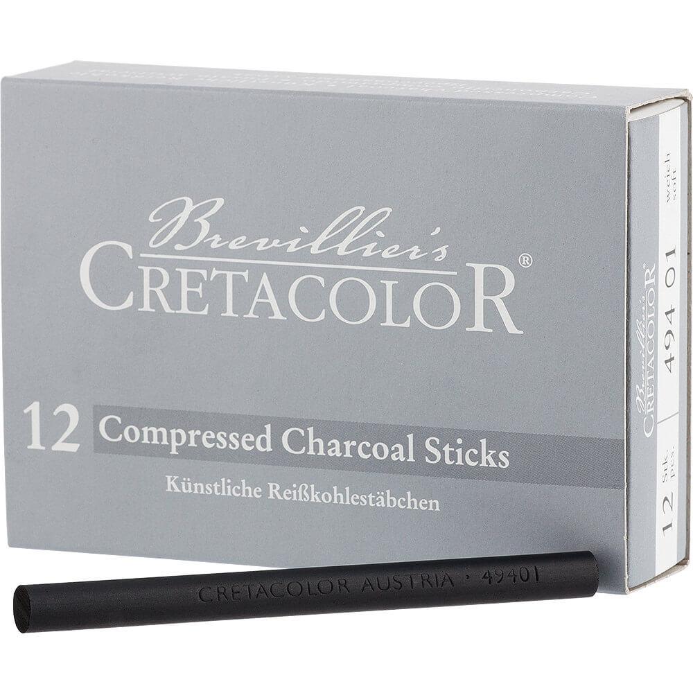 Cretacolor Compressed Charcoal Soft